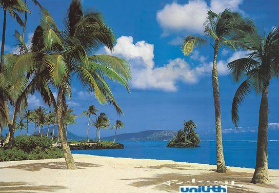 fototapete hawaii gr 388 x 270 cm bildwand fototapeten urlaub l ikea ebay. Black Bedroom Furniture Sets. Home Design Ideas
